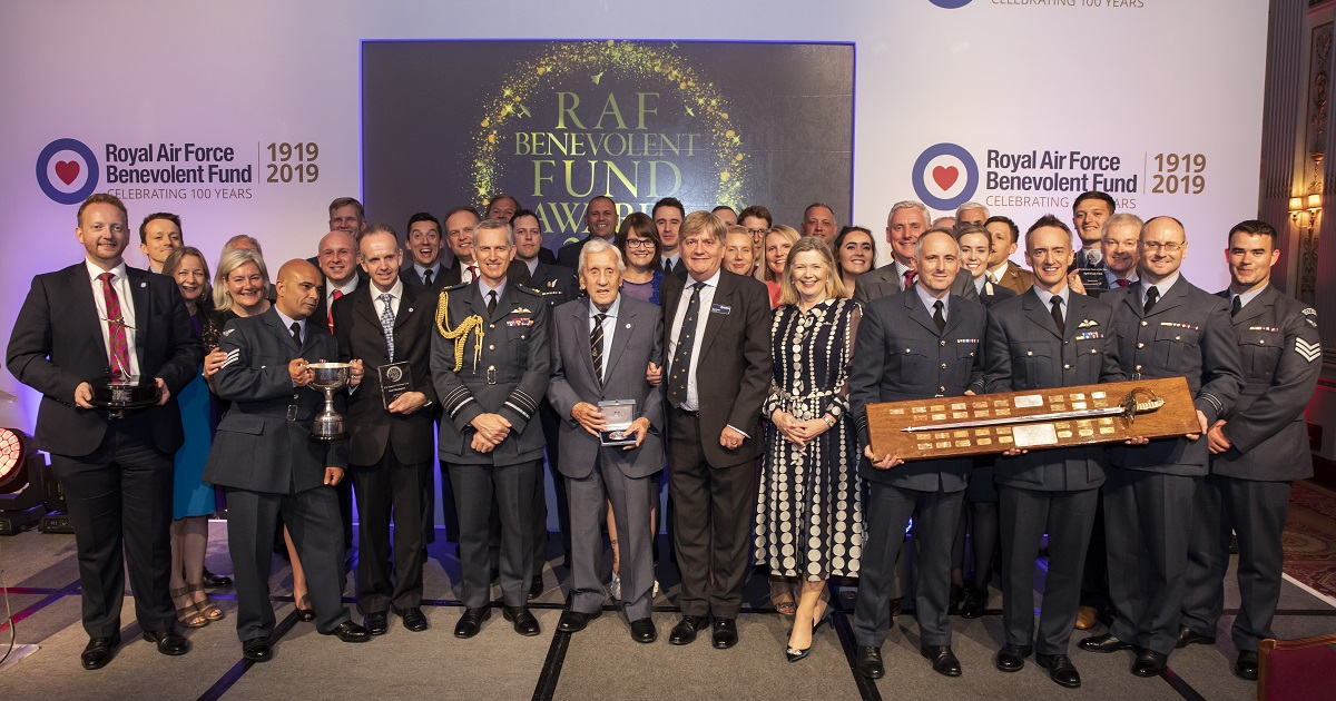 RAF Benevolent Fund Awards 2019 All Winners