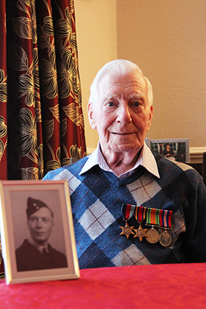 RAF veteran Ron Short