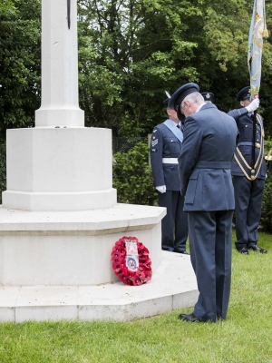 56 Squadron mark 100 years of service with commemoration service