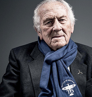 Battle of Britain veteran Tony Pickering